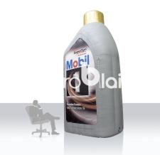 Aufblasbare Ölflasche - Mobil