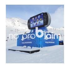 Produktnachbildung aufblasbar - Sony Playstation PS Vita
