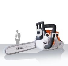 Aufblasbare Produktvergrößerung - Stihl Motorsäge - 10m