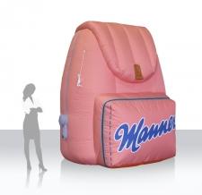 aufblasbares Produkt - Manner Rucksack