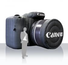 Aufblasbare Produktnachbildung - Canon Kamera