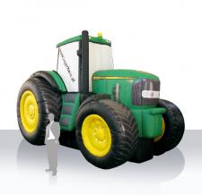 Aufblasbarer Traktor - Lagerhaus
