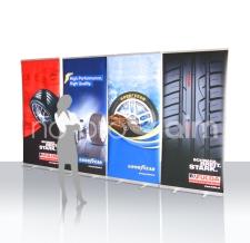 Roll Ups - diverse Reifen-Marken