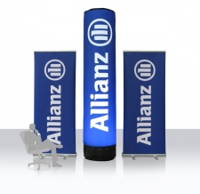 hochwertige Roll Ups - Allianz