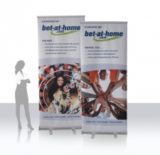 qualitativ hochwertige Roll Ups - bet at home