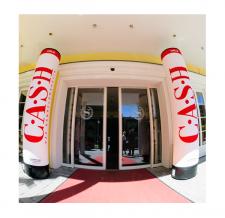Werbesäule aufblasbar Easy MAX - Cash