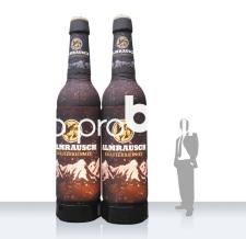 Aufblasbare Bierflaschen - Flaschen MAX Almrausch