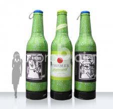 aufblasbare Riesenflaschen - Flaschen MAX Trumer