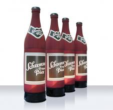 Luftgefüllte Flasche XXL - Flaschen MAX Schremser