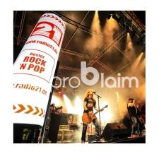 aufblasbare Lichtsäule - Rock ´n Pop