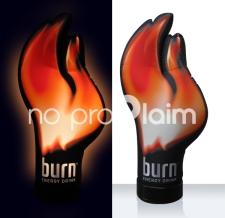 Aufblasbare Werbemittel - Special MAX - Burn Energy Flamme