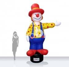 Aufblasbarer Clown - Special MAX Clown
