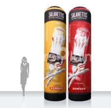 Aufblasbare Werbesäulen - Super MAX Salanettis