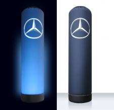 Lichtsäule aufblasbar - Super MAX Mercedes