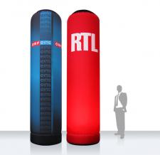 Super MAX - riesen Luftsäule - ORF RTL