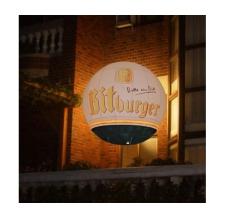 Fesselballon fliegend - Bitburger