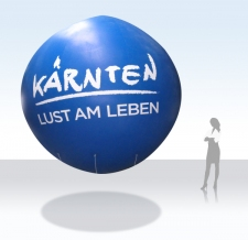 Fliegender Ballon - Kärnten Tourismus