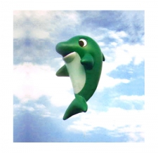Fesselballon - fliegende Sonderform - Delphin