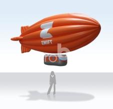Heliumzeppelin - Sonderform Zwift