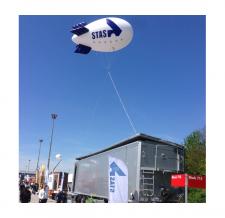 Aufblasbarer Zeppelin - Stas