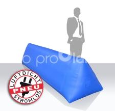luftdichte aufblasbare Dreieckbande für Sportveranstaltungen