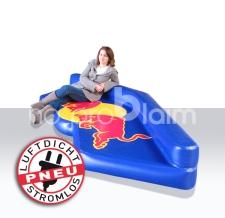 aufblasbare luftdichte Sitzbank - Red Bull