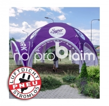 luftdichter aufblasbarer Eventshelter - Pneu Zelt SPIDER Super Park