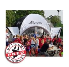 riesiges aufblasbares Werbezelt, Messezelt, Promotionzelt - Pneu Zelt SPIDER Stockholms Fotbollförbund