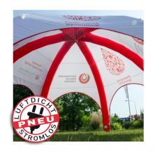 Luftdichtes Werbezelt - Pneu Zelt SPIDER