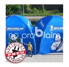 aufblasbare Eventzelte, Marktzelte, Werbezelte - luftdichtes Pneu Zelt SQUARE Michelin