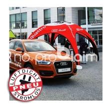 Pavillon aufblasbar / Werbepavillon / Event Shelter - Pneu Zelt SQUARE Audi