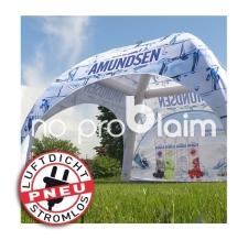 aufblasbares Messezelt, Werbepavillon, Werbezelt -  luftdicht - Pneu Zelt SQUARE Amundsen