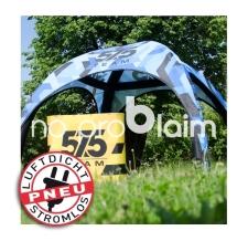 Luftdichtes aufblasbares Igluzelt - Pneu Zelt SQUARE 575 team