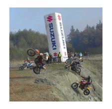 Turm aufblasbar - Suzuki - 800 cm