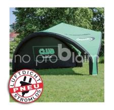 Eventzelt / Event Shelter - luftdicht - Pneu Zelt TRIPOD Club Kawasaki