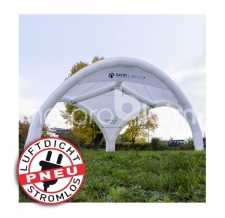 aufblasbarer Pavillon / Eventdome / Air Shelter - Pneu Zelt TRIPOD Club Axion