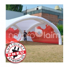 Pavillon / Evenzelt / Promotionzelt - aufblasbar ohne Gebläse - Pneu Zelt TRIPOD