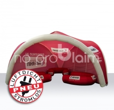 aufblasbares Zelt, Werbezelt, Eventzelt, Promotionzelt - TRIPOD bas rhin