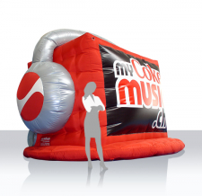 Luftgefüllte Sonderform - Coca Cola My Coke Music