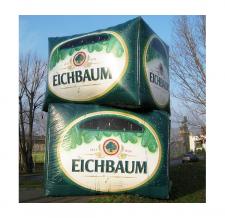Sonderform aufblasbar - Eichbaum Bierkisten
