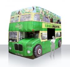 Aufblasbare Sonderform Autobus - Kerry Gold