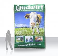 aufblasbare XXL Werbewand - Landwirt