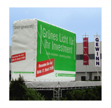 Wand aufblasbar - Gewinn & Investment