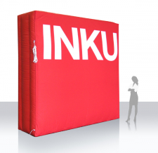 Interviewwand aufblasbar - INKU