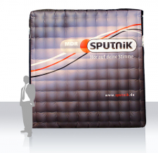 Messewand aufblasbar - Sputnik