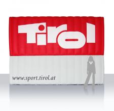 Werbewand aufblasbar - Tirol
