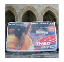 Aufblasbare Promotionwand - Festwochen Wien