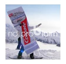 Laufkostüm - Walker Colgate Snowboarder