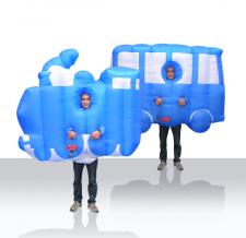 Lauffigur Kostüm - Eisenbahn
