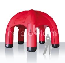 Miete Werbeträger aufblasbares Zelt 5Bein - 500 cm